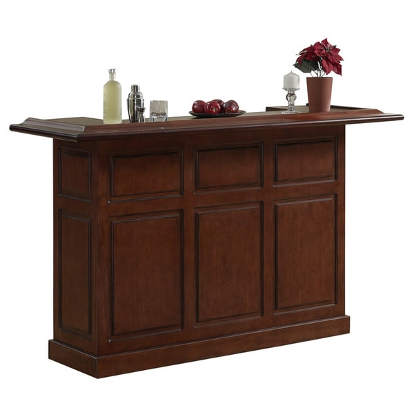 Wood Home Bar: Shop Huntley 72-inch Maple Wood Home Bar