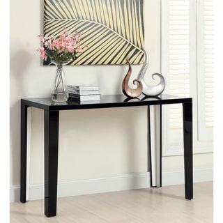 Furniture of America Lorzi High Gloss Lacquer Sofa Table