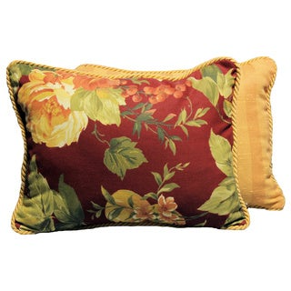 Bramasole Claret Throw Pillows (Set of 2)
