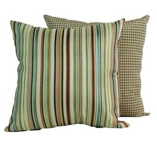 Venice Jewel Throw Pillows (Set of 2)
