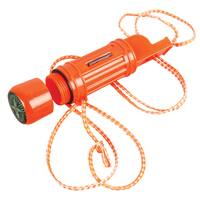 Coleman 5-In-1 Orange Survival Whistle