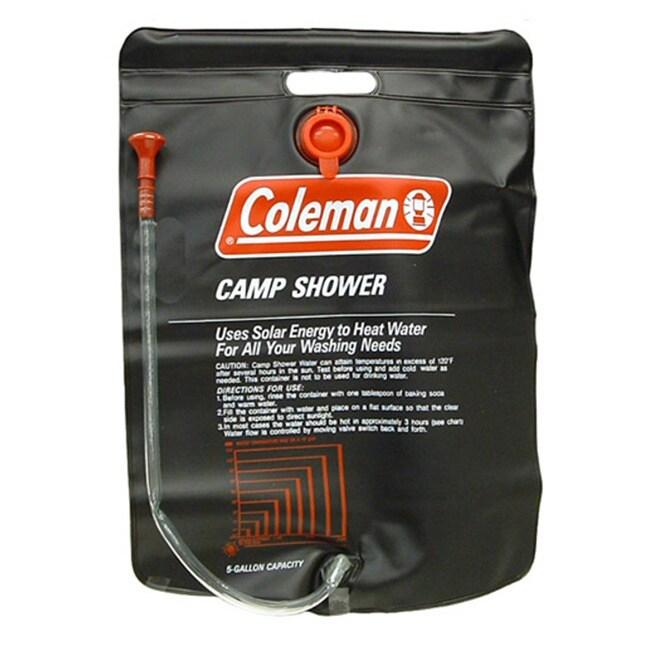 Coleman Black 5-gallon Camp Shower (5 Gallon Camp Shower,...