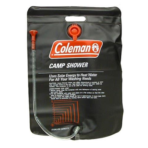 Coleman Black 5-gallon Camp Shower