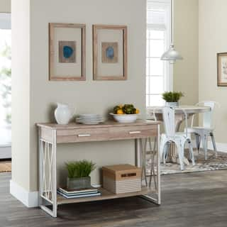 living room sofa table. Seneca Reclaimed Finish Sofa Table Coffee  Console End Tables For Less Overstock com