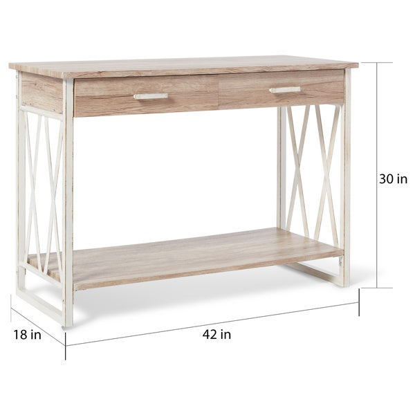 Seneca Reclaimed Finish Sofa Table Free Shipping Today
