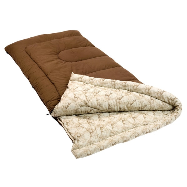 Coleman Autumn Trails 81-inch 20-degree Sleeping Bag
