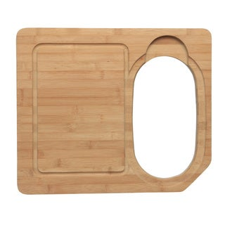 Ukinox CC760HW Wood Cutting Board and Colander