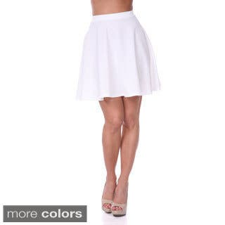 White Mark Women's Flared Mini Skirt|https://ak1.ostkcdn.com/images/products/8847365/White-Mark-Womens-Flared-Mini-Skirt-P16076568.jpg?impolicy=medium