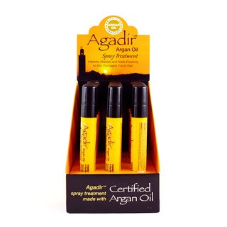 Agadir Argan Oil Spray 0.3-ounce Hair Treatments (Pack of 12)