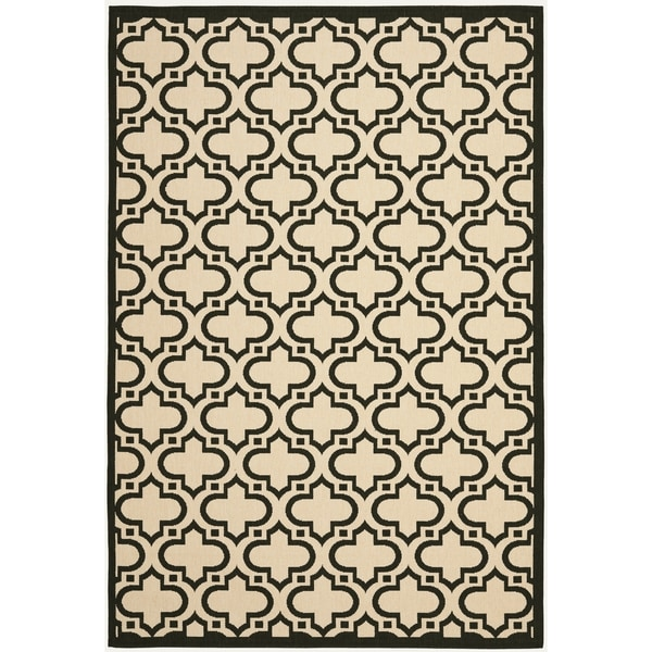 Safavieh Courtyard Belinda Moroccan Indoor/ Outdoor Rug