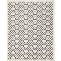 Safavieh Handmade Moroccan Chatham Dark Grey/ Ivory Wool Rug - 8'9 x 12'