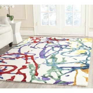 Isaac Mizrahi by Safavieh Handmade Confetti Multi Wool Rug (4' x 6')