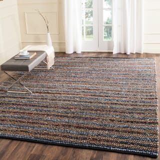 Safavieh Cape Cod Handmade Blue / Multi Jute Natural Fiber Rug (9' x 12')|https://ak1.ostkcdn.com/images/products/8847508/P16076702.jpg?impolicy=medium