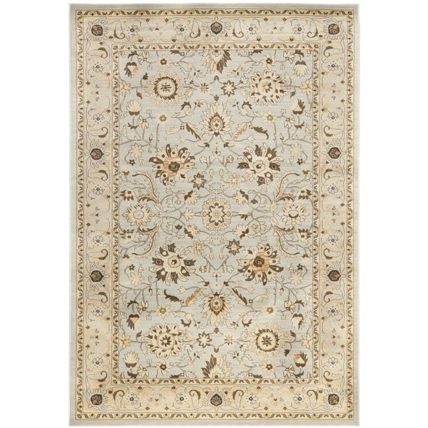 Safavieh florenteen grey ivory rug 9 39 x 12 39 free for Dining room rugs 9x12