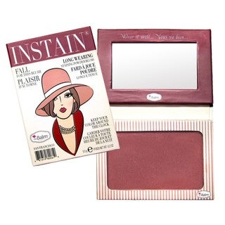 theBalm INSTAIN Pinstripe Powder Blush
