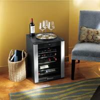 Wine Enthusiast 20-Bottle Evolution Series Wine Cooler