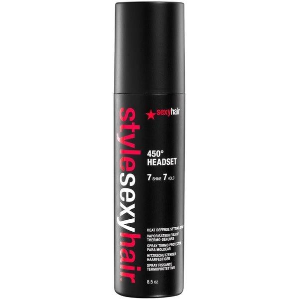 Style Sexy Hair 450º Headset Heat Defense 8.5-ounce Setting Spray