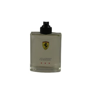 Scuderia Ferrari Red Men's 4.2-ounce Eau de Toilette Spray (Tester)