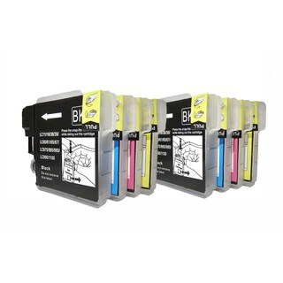 Compatible Brother LC61 Ink Cartridge (Pack of 8)