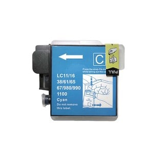 Compatible Brother LC61 Cyan Ink Cartridge