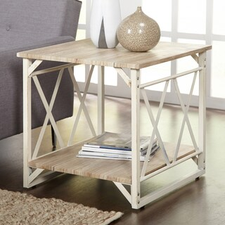 Simple Living Seneca XX Reclaimed Look End Table - N/A (2 options available)