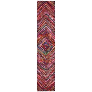 Brilliant Ribbon Vortex Rug Runner (2'6 x 12')