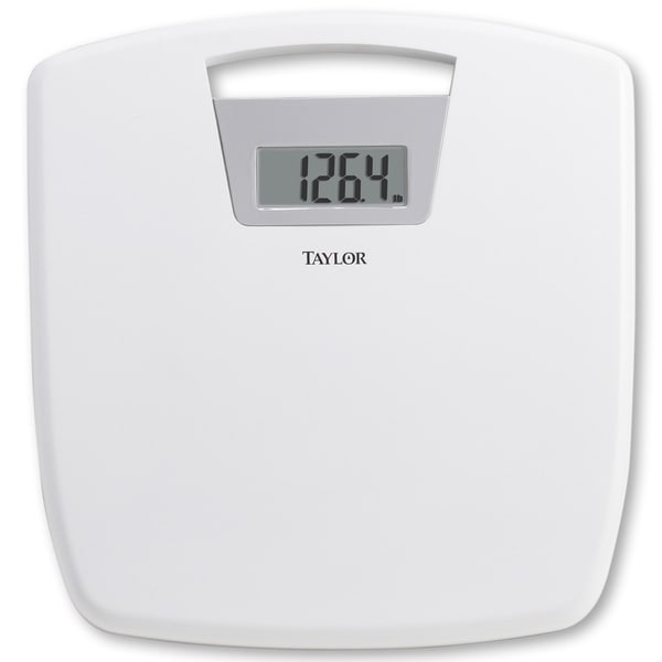 Bathroom Scale Ratings: Shop Taylor Digital Bath Scale With Antimicrobial Platform