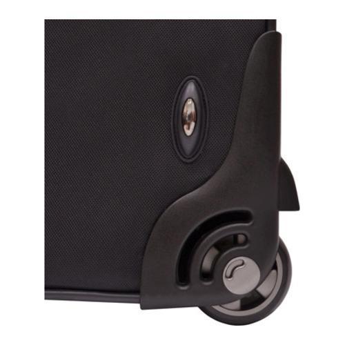 Traveler's Choice Birmingham Black 29-inch Expandable Rolling Suitcase - Thumbnail 2