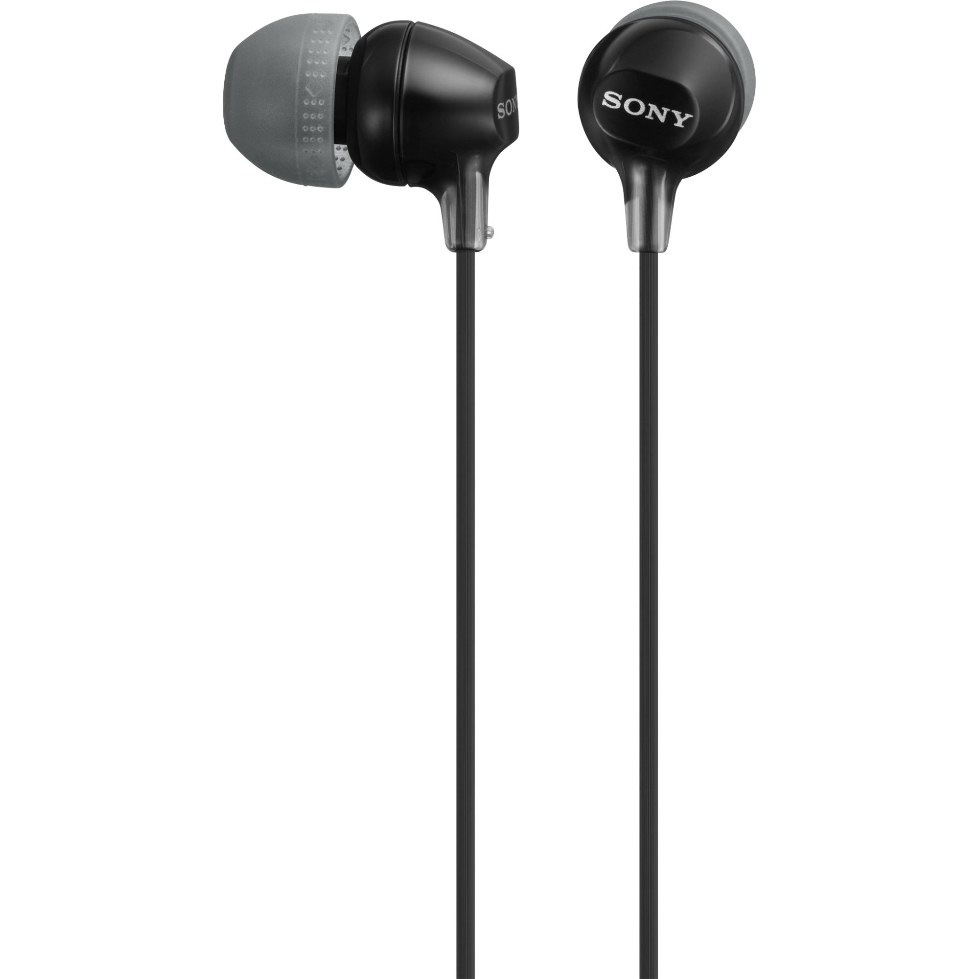 Sony Fashion Color EX Series Earbuds, Black #MDREX15LP/B