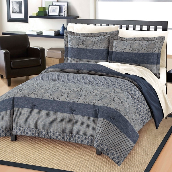Marina Cotton 3-piece Comforter Set