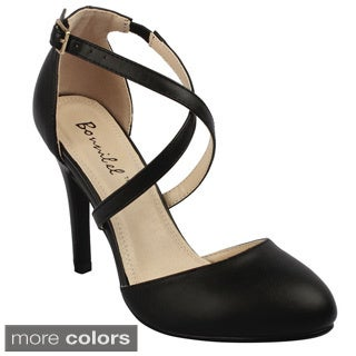 Shop Bonnibel Women S Alia 2 Stiletto Heel Buckle Criss