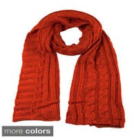 Women's Cable Knit Scarf