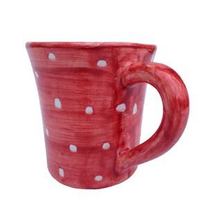 Hand-painted 'Pallini' Polka Dot Mug (Italy)