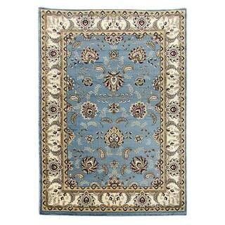 Tiffany Sky Blue Oriental Area Rug (5 'x 7')