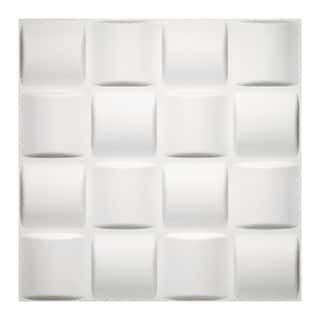 Achim Donny Osmond Home 3D Self-adhesive Basket Weave Wall Tiles (Pack of 10)