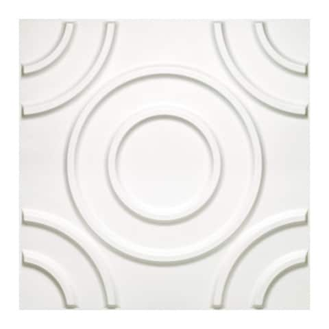 Achim Donny Osmond Home 3D Self-adhesive Circles Wall Tiles