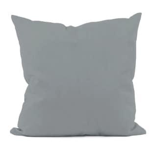 Grey Decorative Throw Pillow