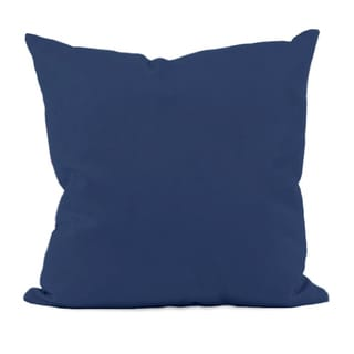 Navy Blue Decorative Throw Pillow