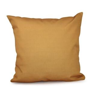 Gold Decorative Throw Pillow