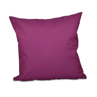 Purple Decorative Throw Pillow