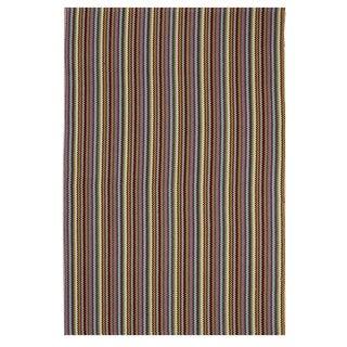 Indo Hand-woven Montego Multicolor Casual Stripe Area Rug (3' x 5')