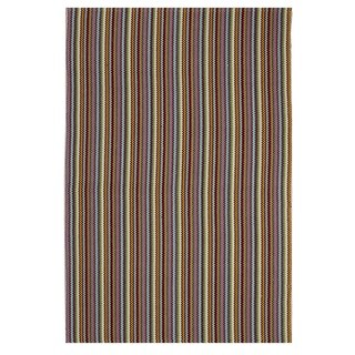 Indo Hand-woven Montego Multicolor Transitional Area Rug (4' x 6')