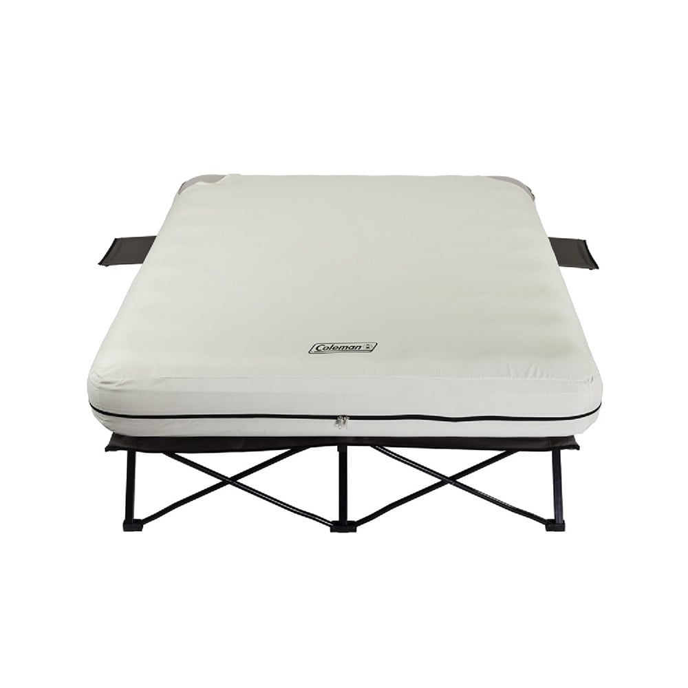 Coleman Queen Cot with Airbed (Queen Cot with Airbed), White