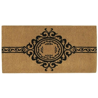 Garbo Extra-thick Natural Coir Doormat (3' x 6')