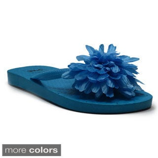 Blue Children's K-Flola Flip Flops