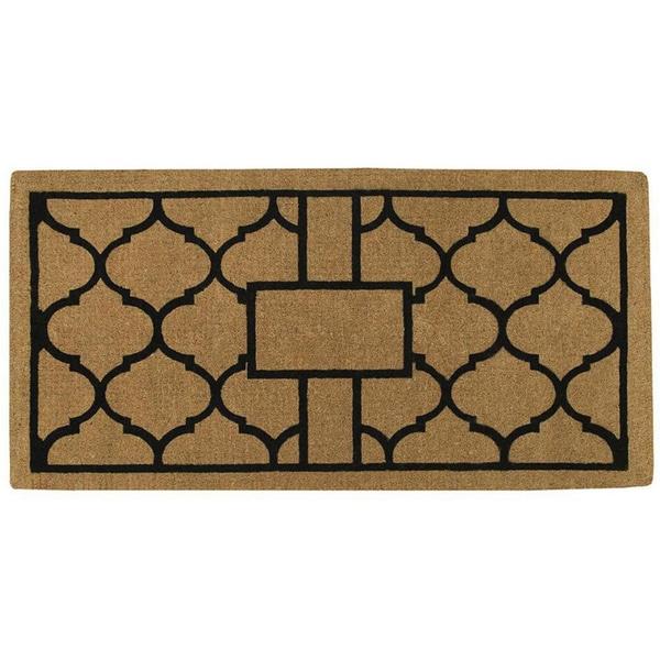 Pantera Extra-thick Natural Coir Doormat (3' x 6')