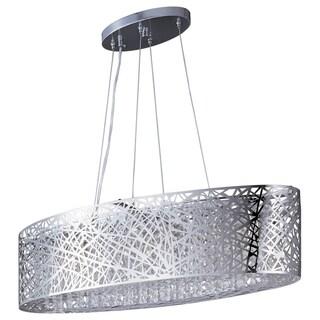 Maxim Inca 9-light Polished Chrome Linear Pendant Lamp