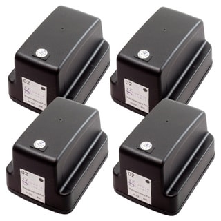Sophia Global Remanufactured Ink Cartridge Replacement for HP 02 (4 Black)
