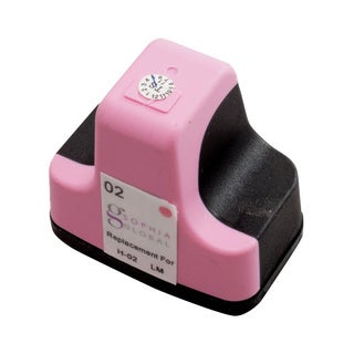 Sophia Global Remanufactured Ink Cartridge Replacement for HP 02 (1 Light Magenta)