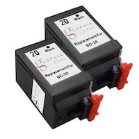 Sophia Global Remanufactured Ink Cartridge Replacement for Canon BC-20 (2 Black)